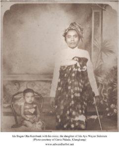 Ida Bsgus Oka Kerebuak and niece