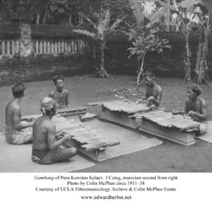 Gambang of Pura Kawitan Kelaci