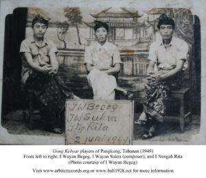 Gong Pangkung-Begeg-Sukra-Rita