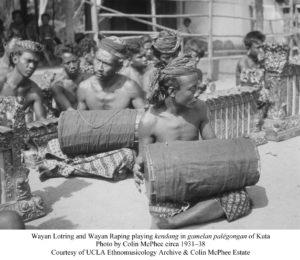 Lotring & W. Raping-kendang Palegongan Kuta