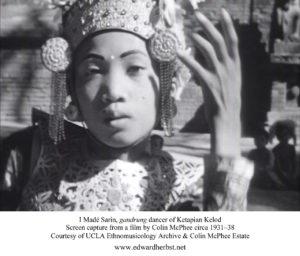 I Madé Sarin of Ketapian Kelod