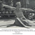 I Gusti Ngurah Gde Raka dancing Igel Jongkok